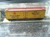 Micro Train 49380 N-Scale 40' Dbl Sheathed-Wood Reefer with Vertical Brake Staff